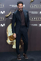Oscar Higgles attends to the premiere of 'La Peste' at Callao Cinemas in Madrid, Spain. January 11, 2018. (ALTERPHOTOS/Borja B.Hojas) /NortePhoto.com NORTEPHOTOMEXICO