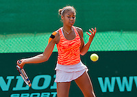 Netherlands, Rotterdam August 05, 2015, Tennis,  National Junior Championships, NJK, TV Victoria, Noa Liauw-A-Fong<br /> Photo: Tennisimages/Henk Koster