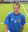 Stevenage assistant manager John Dreyer at the Stevenage FC team photo shoot at The Lamex Stadium, Broadhall Way, Stevenage on Saturday, 24th July, 2010.© Kevin Coleman 2010