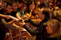 Lars Ulrich of Metallica attends the premiere of 'Metallica: Through The Never' at Callao cinema on October 9, 2013 in Madrid, Spain. (ALTERPHOTOS/Victor Blanco)