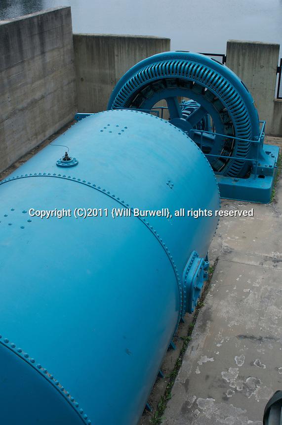 Water Turbine, Big Chute Ontario