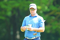 Ryan Fox at the 2nd green during the BMW PGA Golf Championship at Wentworth Golf Course, Wentworth Drive, Virginia Water, England on 25 May 2017. Photo by Steve McCarthy/PRiME Media Images.