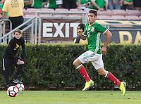 Pasadena, CA - Thursday June 09, 2016: Raul Jimenez during a Copa America Centenario Group C match between Mexico (MEX) and Jamaica (JAM) at Rose Bowl Stadium.
