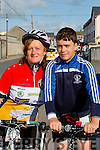 Michelle and Conor O'Sullivan at the Currow CC cycle in aid of Castleisland Day care centre on Sunday