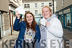 Mary Kate Heasman (Castlegregory) and her friend Jennifer White who were the first to get tickets for Ed Sheeran on Saturday morning.