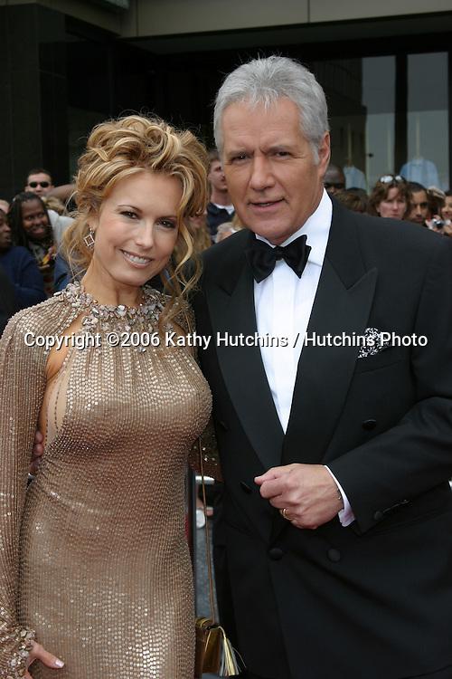 Tracey Bregman & Alex Trebek.33rd Daytime Emmy Awards.Kodak Theater.Hollywood & Highland.Los Angeles, CA.April 28, 2006.©2006 Kathy Hutchins / Hutchins Photo..