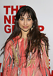 Annapurna Sriram attends the opening night party for the New Group Production of Wallace Shawn's  'Evening at the Talk House' at Green Fig Urban Eatery on 2/16/2017 in New York City.