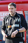 Paul Hurst, Manager of Grimsby Town, during the Vanamara Conference League match between Woking and Grimsby Town at the Kingfield Stadium, Woking, Surrey<br /> Picture by David Horn/eXtreme aperture photography +44 7545 970036<br /> 07/03/2015