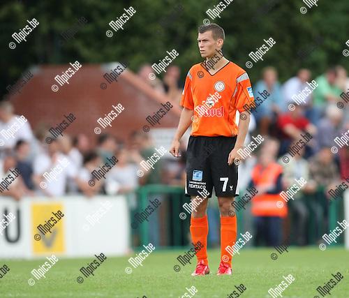 2008-08-17 / Voetbal / Willebroek-Meerhof - FC Brussels / Steve Hercor..Foto: Maarten Straetemans (SMB)