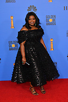 LOS ANGELES, CA. January 06, 2019: Octavia Spencer at the 2019 Golden Globe Awards at the Beverly Hilton Hotel.<br /> Picture: Paul Smith/Featureflash
