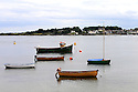 TRAVEL PIECE TO GO WITH GLENN PATTERSON COUNTY DOWN - Small boats moored at Portaferry.  Photo/Paul McErlane