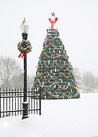 Lobster Trap Christmas Tree, Rockland  #S60