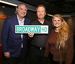 Strewart F. Lane, David Horn and Bonnie Comley Behind the Scenes with BroadwayHD: A Digital Capture of  Roundabout Theatre Company's 'If I Forget' at Laura Pels Theatre on 4/28/2017 in New York City.