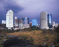 Santa Fe, one of Mexico City's wealthiest neighbourhoods and where many of Latin America's corporate headquarters are found.  Mexico City.
