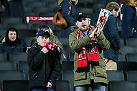 Fleetwood Town fans applaud their side's efforts at the end of the match<br /> <br /> Photographer Andrew Kearns/CameraSport<br /> <br /> The EFL Sky Bet League One - Milton Keynes Dons v Fleetwood Town - Saturday 11th November 2017 - Stadium MK - Milton Keynes<br /> <br /> World Copyright &copy; 2017 CameraSport. All rights reserved. 43 Linden Ave. Countesthorpe. Leicester. England. LE8 5PG - Tel: +44 (0) 116 277 4147 - admin@camerasport.com - www.camerasport.com