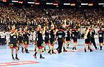 10.01.2019, Mercedes Benz Arena, Berlin, GER, Handball WM 2019, Deutschland vs. Korea, im Bild <br /> Deutsche-Spieler<br /> <br />      <br /> Foto © nordphoto / Engler