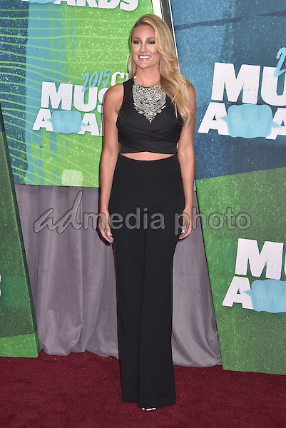 10 June 2015 - Nashville, Tennessee - Brittany Kerr. 2015 CMT Music Awards held at Bridgestone Arena. Photo Credit: Laura Farr/AdMedia