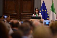 Roma, 28 Settembre 2017<br /> Virginia Raggi<br /> Primo giorno della Terza Conferenza Nazionale della Famiglia al Campidoglio