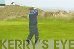 Knockanure man Jerry Leahy now living in Clare tee's off in the in The Junior Cup Tournament in Ballybunion Golf Club .on Sunday. ..   Copyright Kerry's Eye 2008