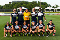 Sky Blue FC starting eleven. Sky Blue FC defeated the Boston Breakers 5-1 during a National Women's Soccer League (NWSL) match at Yurcak Field in Piscataway, NJ, on June 1, 2013.