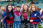 Causeway supporters Katelyn Guerin, Ciara O'Halloran, Ivana Nealon, Debora Canty.