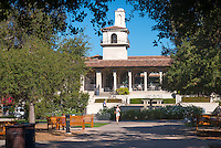 JSC as seen from the Academic Quad, Oct. 6, 2014. (Photo by Marc Campos, Occidental College Photographer)