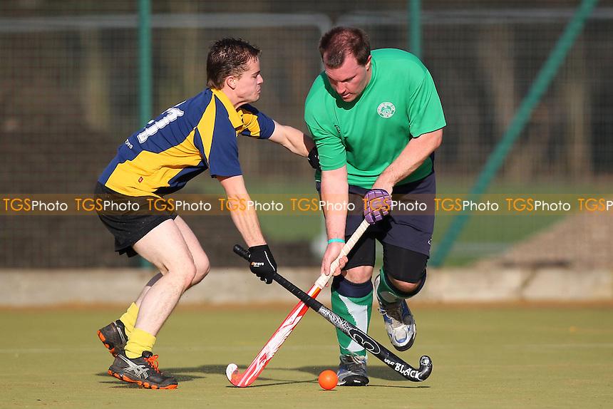 Romford HC vs Chelmsford HC 3rd XI - East Hockey League at Robert Clack Leisure Centre - 25/01/14 - MANDATORY CREDIT: Gavin Ellis/TGSPHOTO - Self billing applies where appropriate - 0845 094 6026 - contact@tgsphoto.co.uk - NO UNPAID USE