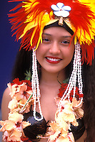 Native Dancer , French Polynesia, Bora Bora, Tahiti