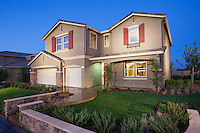 Exterior Architectural Photo of New Model Home