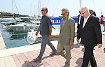 08.08.2014., Baska Voda, Croatia - Croatian President Ivo Josipovic and prince Waleed bin Talal bin Abdul-Aziz Al Saud talked while walking on a seafront. <br /> Foto &copy;  nph / PIXSELL / Ivo Cagalj