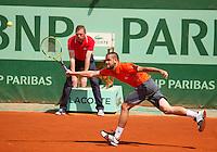 02-06-12, France, Paris, Tennis, Roland Garros,    Mikhail Youzhny