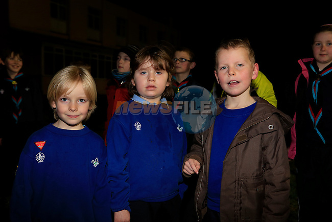 Louis Nelligan Sophie Leonard and Jude Loghran new beavers.<br />  Picture: Fran Caffrey www.newsfile.ie