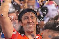 SÃO PAULO, SP, 21.04.2019 - CORINTHIANS-SÃO PAULO- jogadores do Corinthians comemoram conquista do Campeonato Paulista de 2019 após partida contra o São Paulo em jogo válido pela Final do Campeonato Paulista 2019 na Arena Corinthians em São Paulo, neste domingo, 21. (Foto: Anderson Lira/Brazil Photo Press)