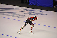 SPEEDSKATING: CALGARY: 13-11-2015, Olympic Oval, ISU World Cup, 5000m, Patrick Beckert (GER), ©foto Martin de Jong