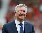 Sir Alex Ferguson during the Michael Carrick Testimonial match at the Old Trafford Stadium, Manchester. Picture date: June 4th 2017. Picture credit should read: Simon Bellis/Sportimage
