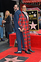 RuPaul &amp; Georges LeBar at the Hollywood Walk of Fame Star Ceremony honoring TV drag star RuPaul on Hollywood Boulevard, Los Angeles, USA 16 March 2018<br /> Picture: Paul Smith/Featureflash/SilverHub 0208 004 5359 sales@silverhubmedia.com