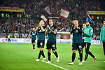 04.11.2018, Opel-Arena, Mainz, GER, 1 FBL, 1. FSV Mainz 05 vs SV Werder Bremen, <br /> <br /> DFL REGULATIONS PROHIBIT ANY USE OF PHOTOGRAPHS AS IMAGE SEQUENCES AND/OR QUASI-VIDEO.<br /> <br /> im Bild: Frust bei Niklas Moisander (SV Werder Bremen #18), Max Kruse (SV Werder Bremen #10), Maximilian Eggestein (#35, SV Werder Bremen)<br /> <br /> Foto © nordphoto / Fabisch