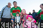 Oran Buckley, Leyla Kate Buckley, Aoibheann Buckley, Eamon Kissane with  Beale captain James McMahon at the Bernard O'Callaghan Memorial Senior Football Championship final last Saturday Beale V Listowel Emmets