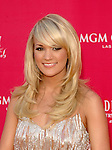 Carrie Underwood at the 2008 ACM Awards at MGM Grand in Las Vegas, May 18 2008.