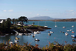 Sunshine over Baltimore Harbour and Sherkin island in West Cork.<br /> Picture by Don MacMonagle