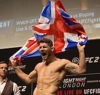 UFC Fight Night 84 Weigh Ins 260216