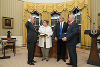 FEB 01 Rex Tillerson is sworn-in as US Secretary of State