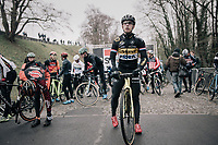 Lars van der Haar (NED/Telenet Fidea Lions) at the start<br /> <br /> Elite Men's race<br /> UCI CX World Cup Namur / Belgium 2017