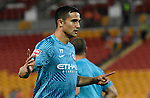 BRISBANE, AUSTRALIA - OCTOBER 30: Tim Cahill of Melbourne gives instructions before the round 5 Hyundai A-League match between the Brisbane Roar and Melbourne City at Suncorp Stadium on November 4, 2016 in Brisbane, Australia. (Photo by Patrick Kearney/Brisbane Roar)
