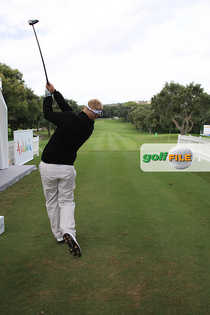 Richard Finch (ENG) during the pro-am at the  Andalucía Masters at Club de Golf Valderrama, Sotogrande, Spain. .Picture Fran Caffrey www.golffile.ie