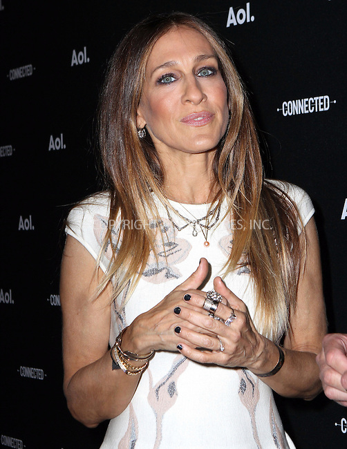 WWW.ACEPIXS.COM<br /> <br /> April 29 2014, New York City<br /> <br /> Sarah Jessica Parker attends the 2014 AOL NewFront at the Duggal Greenhouse on April 29, 2014 in the Brooklyn borough of New York City. <br /> <br /> By Line: Nancy Rivera/ACE Pictures<br /> <br /> <br /> ACE Pictures, Inc.<br /> tel: 646 769 0430<br /> Email: info@acepixs.com<br /> www.acepixs.com