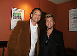 John Lindstrom & Lance Bass at the Opening Night of the off-Broadway play The Irish Curse on March 28, 2010 at the Soho Playhouse, New York City, New York. (Photo by Sue Coflin/Max Photos)
