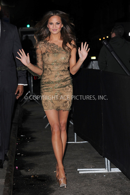 WWW.ACEPIXS.COM . . . . . February 14, 2012...New York City...Sports Illustrated swimsuit model Chrissy Teigen attends SI Swimsuit Launch Party at Crimson on February 14, 2012 in New York City....Please byline: KRISTIN CALLAHAN - ACEPIXS.COM.. . . . . . ..Ace Pictures, Inc: ..tel: (212) 243 8787 or (646) 769 0430..e-mail: info@acepixs.com..web: http://www.acepixs.com .