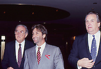 Ron Silver with Karl Malden &amp; Danny Aiello<br />