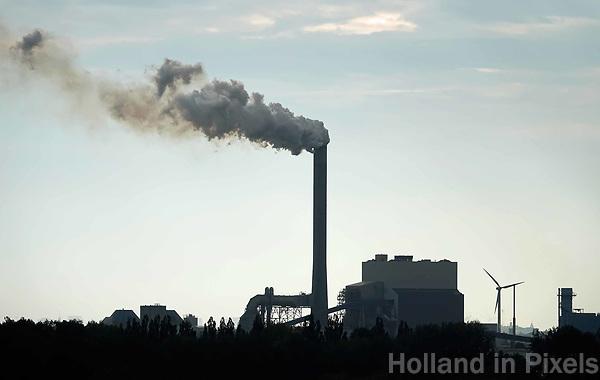 Nederland  Amsterdam-  Oktober 2018.  De Hemwegcentrale. Kolencentrale van Nuon. Foto Berlinda van Dam / Hollandse Hoogte